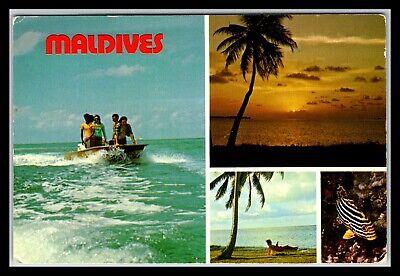 GP GOLDPATH: MALDIVES POST CARD 1976 _CV676_P10