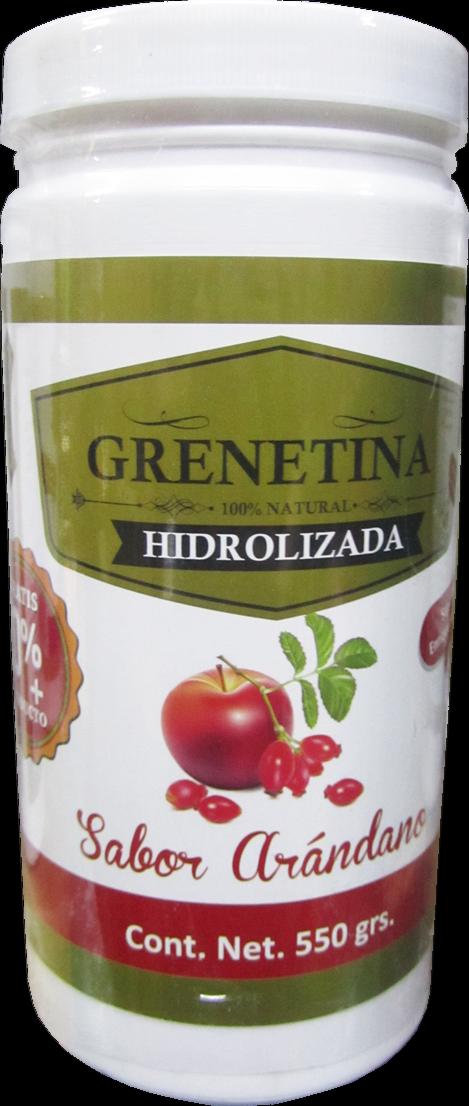 GRENETINA 100% NATURAL HIDROLIZADA ( Lingonberries///Arandano Rojo )