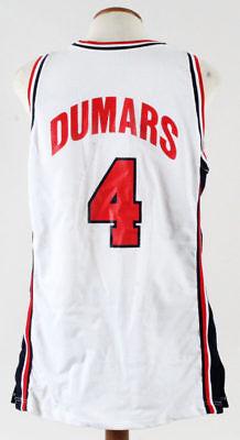 1994 Team USA Joe Dumars Olympics Game Used Basketball Jersey With COA 89058d3a1