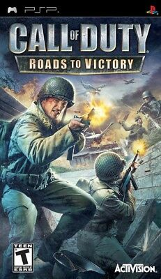 Call Of Duty  Roads To Victory Psp New Sony Psp