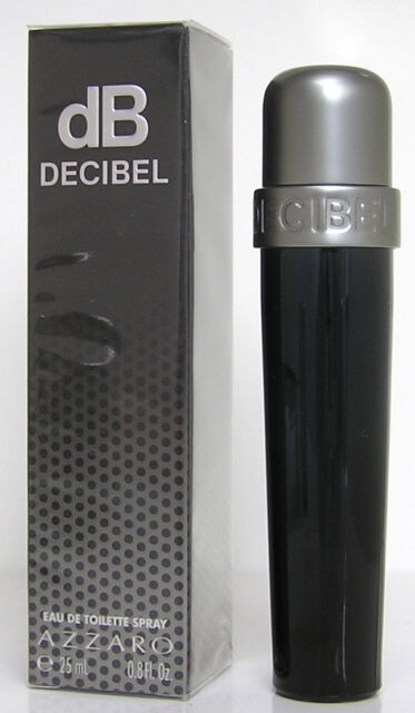 AZZARO dB DECIBEL 25 ml EDT Spray Neu OVP