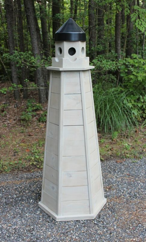 Woodworking Plans for a 5 ft. Lawn Lighthouse - Treated Lumber - CD via Mail