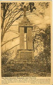 WARWICK-Warwickshire-The-Piers-Gaveston-Monument-WARD