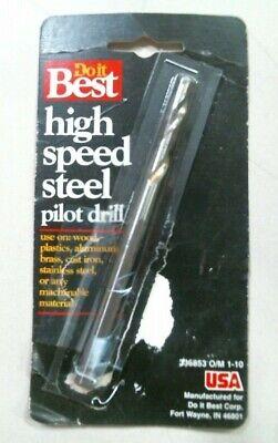 Doit Best 336853, Hole Saw High Speed Steel Pilot Drill Bit FREE SHIPPING