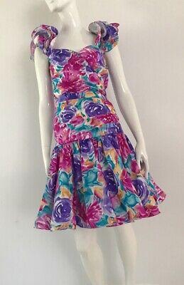 80s Dresses | Casual to Party Dresses Vintage 1980's Mr K Cocktail Dress $59.91 AT vintagedancer.com