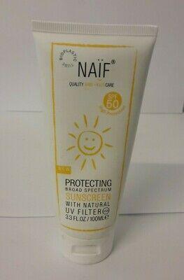 Naïf - Crema Solar Alta Protección SPF 50 - 100 ML