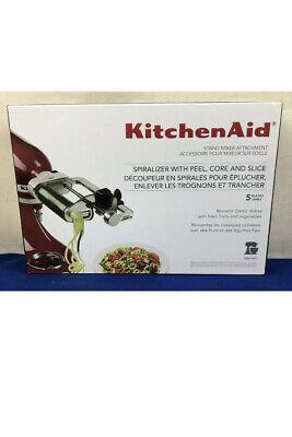 New KitchenAid KSM1APC Spiralizer Attachment