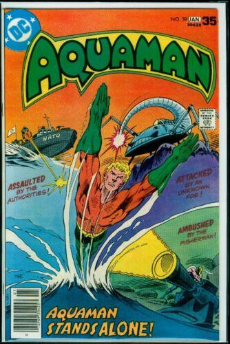 DC Comics AQUAMAN #59 Aquaman Stands Alone NM 9.4
