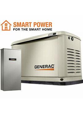 Generac Guardian 10kw Aluminum Standby Generator System 100a Ats W 16-...