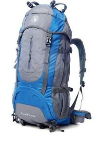 Brand New 65L Camping Hiking Rucksack Backpack on Sale! Norwood Norwood Area Preview