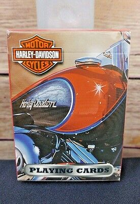 NEW Harley Davidson Motorcycle 2003 Bicycle Playing Cards New In Package SEALED