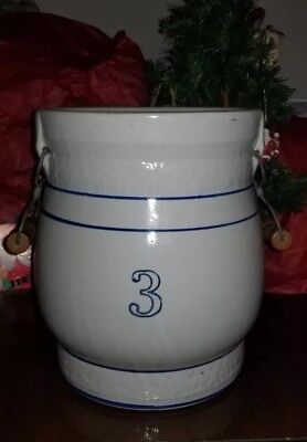 RED SEAL WATER COOLER Crock #3 Beckley Cardy Company CHICAGO