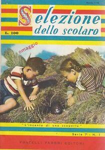 SELEZIONE-DELLO-SCOLARO-anno-I-numero-1-novembre-1956-Fratelli-Fabbri-Editori
