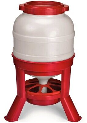 45 Pound Hd Automatic Gravity Fed Dome Poultry Feeder Chicken Feed Domefdr45