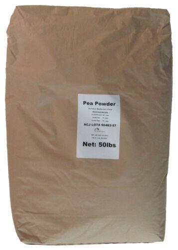 NEW 50 lbs 19% Crude Protein PEA POWDER Isolate Aminos for Animals Livestock etc