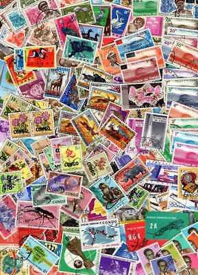 Belgisch Congo Belge - Rep. Congo Kinshasa Clearout Coll. 152 stamps Used (5)