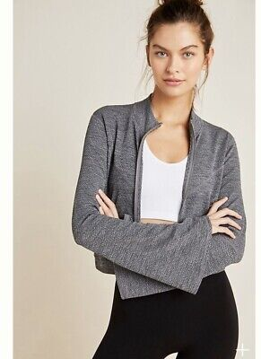 NWT Free People Movement Off The Grid Jacket Xsmall $128 Grey
