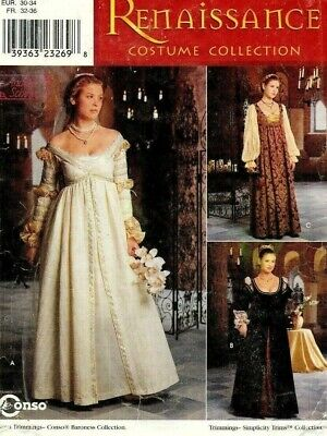 Simplicity 8735 Ever After Renaissance Faire Costume Pattern 4-8, 10-14 or 16-20](Ever After Costume)