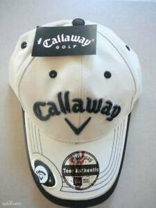 NEW CALLAWAY GOLF CLUB CAP HAT with CALLAWAY MAGNETIC BALL MARKER