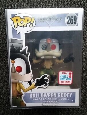 FUNKO POP KINGDOM HEARTS SERIES HALLOWEEN GOOFY 2017 FALL CONVENTION EXCLUSIVE