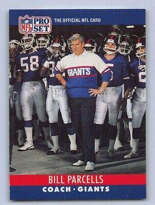 1990  PRO SET - BILL PARCELLS HEAD COACH - Football Card # 232 - NEW YORK GIANTS