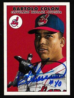 2000 Fleer Tradition Baseball Card #259 Bartolo Colon Signed Auto Autograph TTM