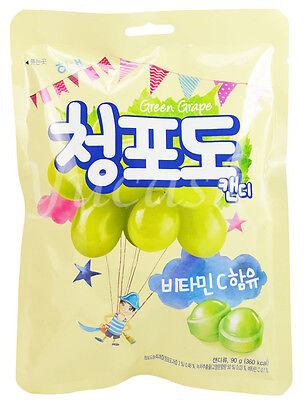 Haitai Fruit Hard Candy  Green Grape  Plum