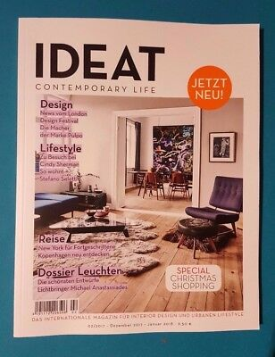 IDEAT Contemporary Life 02 Dez.2017 - Jan.2018  ungelesen 1A abs. TOP