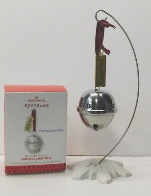Hallmark Ornament 2013 Santa's Sleigh Bell * The Polar Express ** FREE SHIPPING