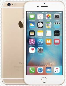 iPhone 6 - 64 GB - gold / or