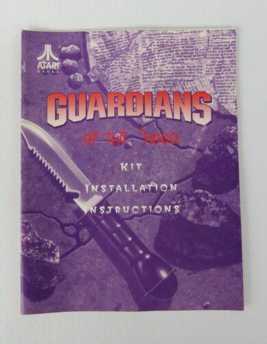 Atari Guardians of the Hood Kit Installation Instruction Manual