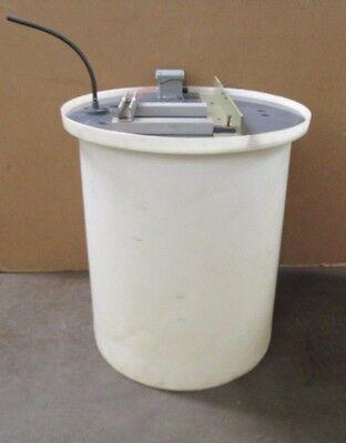 No Name 125 Gallon Polyurethane Poly Chemical Water Storage Mixer Mixing Tank