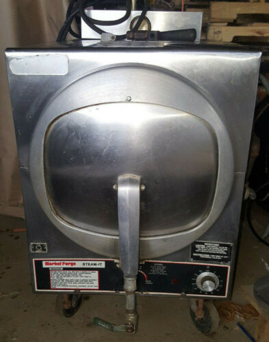 Market Forge Steam-It Natural Gas Commercial Pressure Steamer Cooker ST-AGF