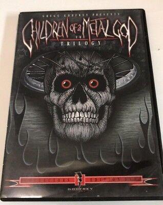 Children Of A Metal God Trilogy  Dvd  Very Good