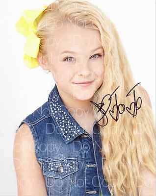 JoJo Siwa signed Dance Moms 8X10 photo picture poster autograph RP