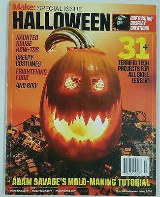 Make Special Issue Halloween Haunted House Tech Projects 2016 FREE SHIPPING JB