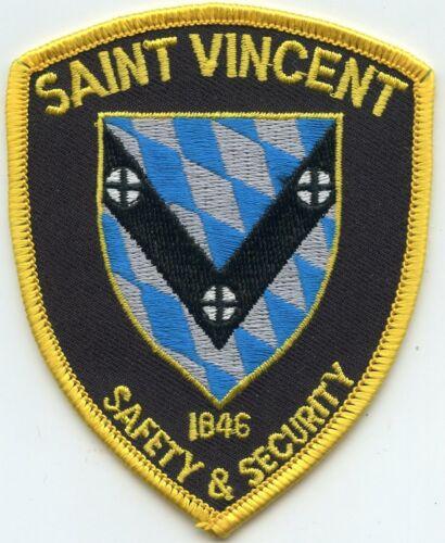 SAINT VINCENT COLLEGE Latrobe PENNSYLVANIA PA SECURITY police PATCH