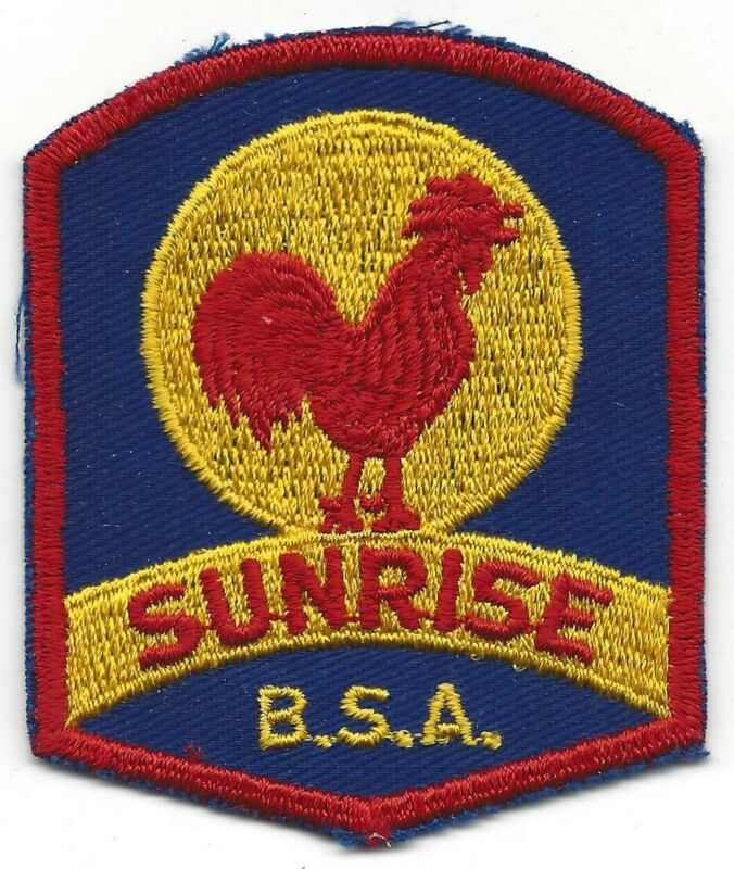 Camp Sunrise patch - Green Mountain Council
