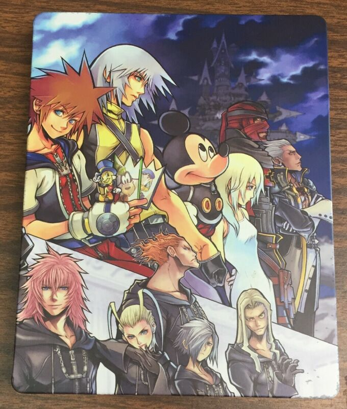 Kingdom Hearts HD 1.5 & 2.5 ReMIX Sony PlayStation 3 PS3 - SteelBook Case ONLY