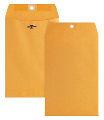 Qty-15 Heavyweight 6 X 9 Manila Clasp Envelopes