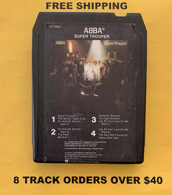 ABBA Super Trouper 8 track tape tested