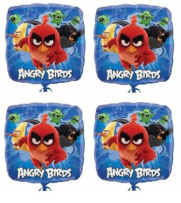 10.2x45.7cm Angry Birds Folie Mylar Luftballon Party Dekoration