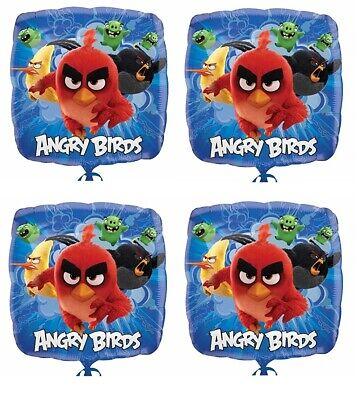 10.2x45.7cm Angry Birds Folie Mylar Luftballon Party Dekoration ()