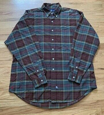 Big Pony Oxford (Ralph Lauren Polo Oxford Big Shirt Button Down Pocket Pony Men's Size L)