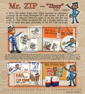 Mr. Zip - Postal / Philatelic History: (Artistamp, Cinderella, Faux Postage)