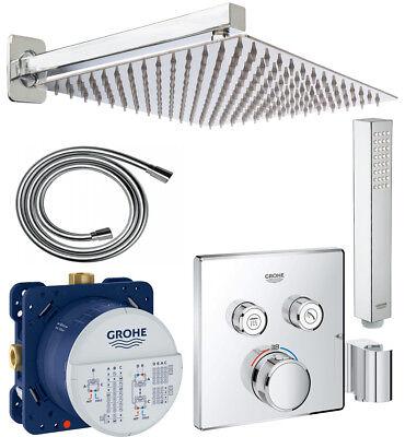 GROHE Smartcontrol Thermostat Unterputz Eurocube Handbrause, Regendusche 300 A37 online kaufen