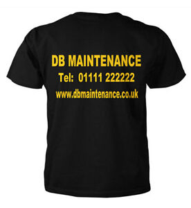 Personalised-T-Shirt-Work-Wear-Custom-Printed-T-Shirts-Sizes-Small-to-XXL