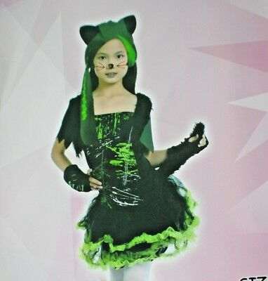 Kool Kat Halloween Costume (Kool Kat Girls happy cat Costume Halloween Dress kids world)