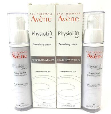 2 Pack Avene PhysioLift DAY Smoothing Cream 1.0 fl oz. 01/2023 Exp Date