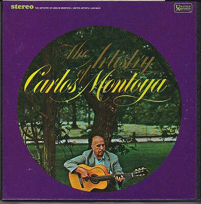 The Artistry of Carlos Montoya 7 1/2 IPS Reel to Reel Flamenco Guitar